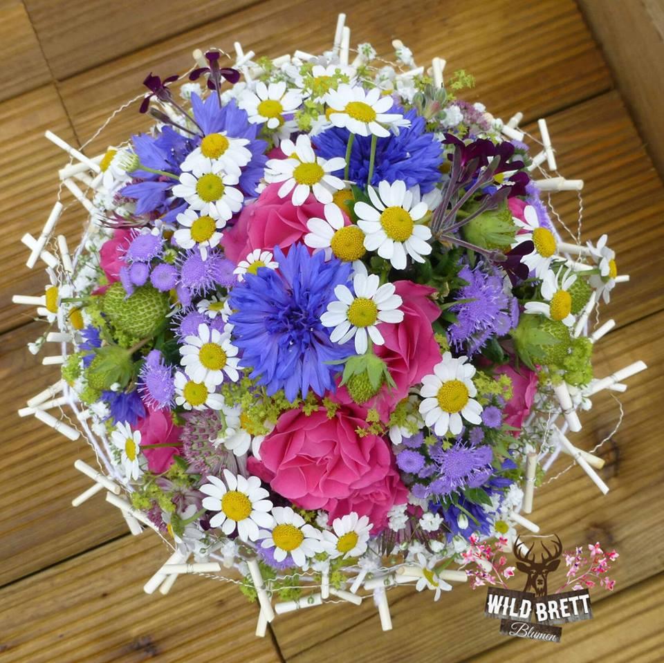 Hochzeit Blumen Wildbrett Weiden